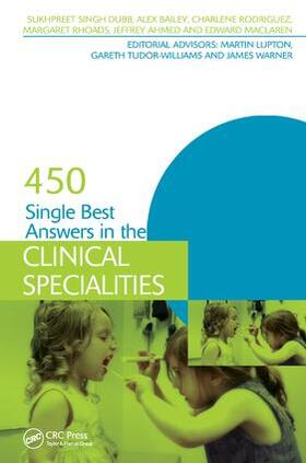 Singh Dubb   450 Single Best Answers in the Clinical Specialities   Buch   sack.de