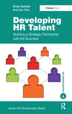 Saddler   Developing HR Talent   Buch   sack.de