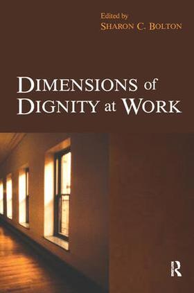 Bolton | Dimensions of Dignity at Work | Buch | sack.de