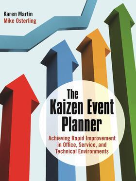 Martin   The Kaizen Event Planner   Buch   sack.de