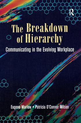Marlow | The Breakdown of Hierarchy | Buch | sack.de