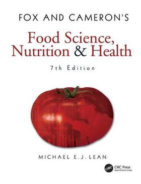 Lean   Fox and Cameron's Food Science, Nutrition & Health   Buch   sack.de