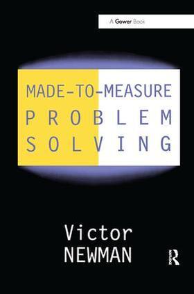 Newman   Made-to-Measure Problem-Solving   Buch   sack.de