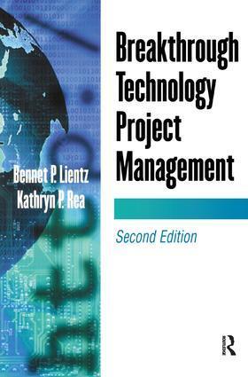 Lientz | Breakthrough Technology Project Management | Buch | sack.de