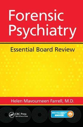 Farrell | Forensic Psychiatry | Buch | sack.de