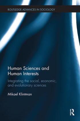 Klintman | Human Sciences and Human Interests | Buch | sack.de