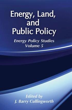 Cullingworth | Energy, Land and Public Policy | Buch | sack.de