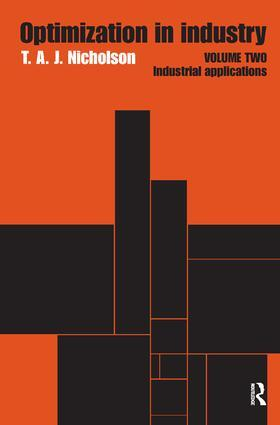 Nicholson | Optimization in Industry | Buch | sack.de