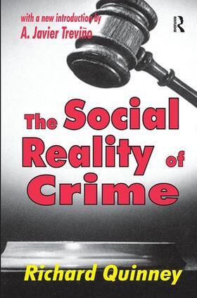 Roepke / Quinney | The Social Reality of Crime | Buch | sack.de