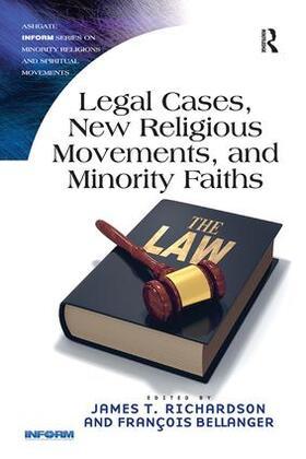 Richardson / Bellanger | Legal Cases, New Religious Movements, and Minority Faiths | Buch | sack.de