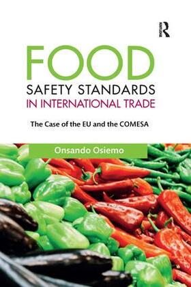 Osiemo   Food Safety Standards in International Trade   Buch   sack.de