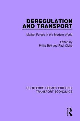 Bell / Cloke   Deregulation and Transport   Buch   sack.de