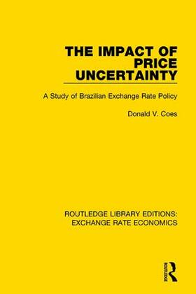 Coes | The Impact of Price Uncertainty | Buch | sack.de