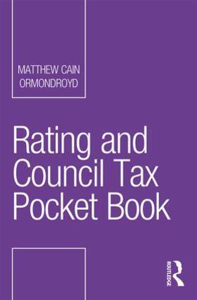 Ormondroyd | Rating and Council Tax Pocket Book | Buch | sack.de