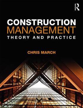 March | Construction Management | Buch | sack.de