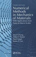 Saigal / Chong / Boresi |  Numerical Methods in Mechanics of Materials | Buch |  Sack Fachmedien