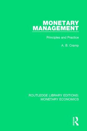 Cramp | Monetary Management | Buch | sack.de