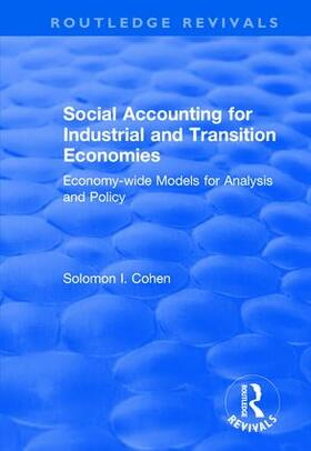 Cohen | Social Accounting for Industrial and Transition Economies | Buch | sack.de