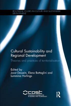 Dessein / Battaglini / Horlings | Cultural Sustainability and Regional Development | Buch | sack.de
