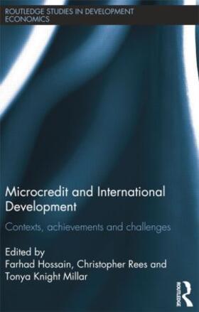 Hossain / Rees / Knight-Millar | Microcredit and International Development | Buch | sack.de