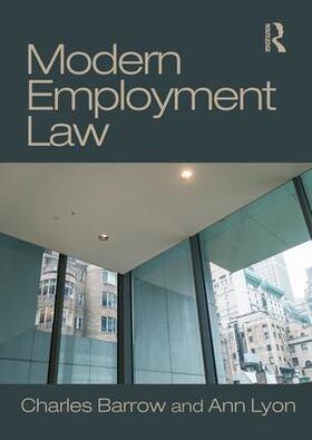 Barrow / Lyon   Modern Employment Law   Buch   sack.de
