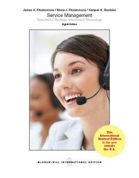 Fitzsimmons / Fitzsimmons / Bordoloi   Service Management   Buch   sack.de