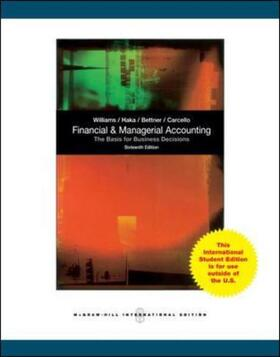 Financial and Managerial Accounting | Buch | sack.de