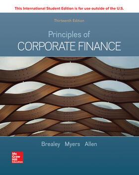 Brealey / Myers / Allen | ISE Principles of Corporate Finance | Buch | sack.de