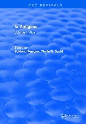 Ferrone | Ia Antigens | Buch | sack.de