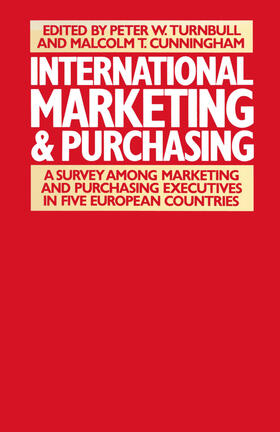 Cunninghamd / Cunningham / Ford   International Marketing and Purchasing   Buch   sack.de