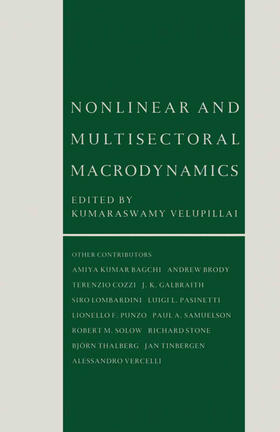 Velupillai | Nonlinear and Multisectoral Macrodynamics | Buch | sack.de