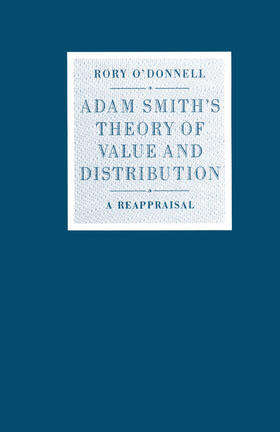 O'Donnell | Adam Smith's Theory of Value and Distribution | Buch | sack.de