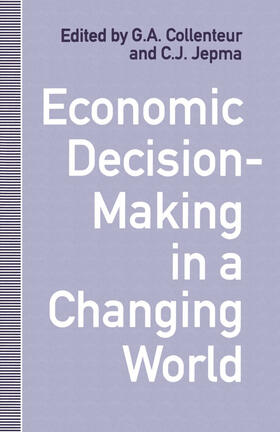 Collenteur / Jepma | Economic Decision-Making in a Changing World | Buch | sack.de