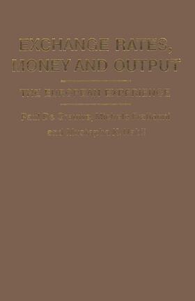 Fratianni / Grauwe / Nabli | Exchange Rates, Money and Output | Buch | sack.de
