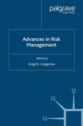 Gregoriou | Advances in Risk Management | Buch | sack.de
