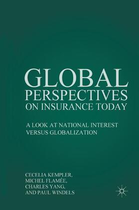 Kempler / Windels / Yang | Global Perspectives on Insurance Today | Buch | sack.de