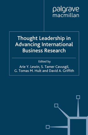 Lewin / Cavusgil / Hult | Thought Leadership in Advancing International Business Research | Buch | sack.de