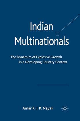 Nayak | Indian Multinationals | Buch | sack.de