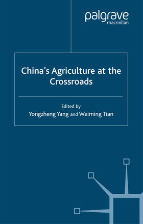 Yang / Tian | China's Agriculture at the Cross Roads | Buch | sack.de