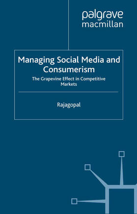 Rajagopal | Managing Social Media and Consumerism | Buch | sack.de
