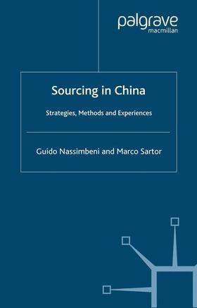 Nassimbeni / Sartor   Sourcing in China   Buch   sack.de