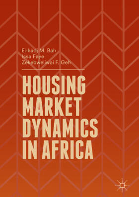 Bah / Faye / Geh | Housing Market Dynamics in Africa | Buch | sack.de