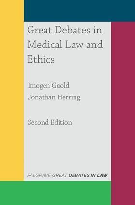 Goold / Herring | Great Debates in Medical Law and Ethics | Buch | sack.de