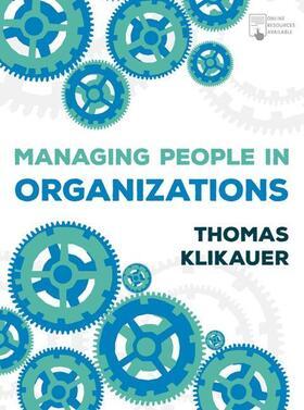 Klikauer   Managing People in Organizations   Buch   sack.de