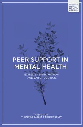 Watson / Meddings | Peer Support in Mental Health | Buch | sack.de