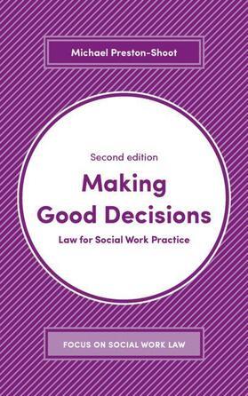 Preston-Shoot   Making Good Decisions   Buch   sack.de