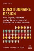 Bolton / Brace |  Questionnaire Design | Buch |  Sack Fachmedien
