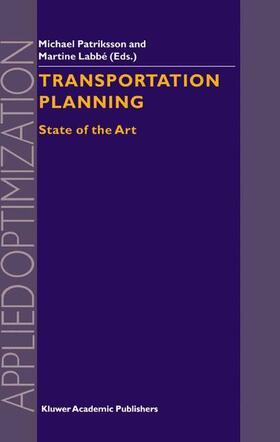 Labbé / Patriksson | Transportation Planning | Buch | sack.de