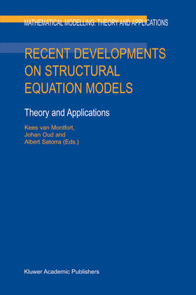 Montfort / Oud / Satorra | Recent Developments on Structural Equation Models: Theory and Applications | Buch | sack.de