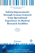 Lambert / Volkov |  Safety Improvements Through Lessons Learned from Operational Experience in Nuclear Research Facilities | Buch |  Sack Fachmedien
